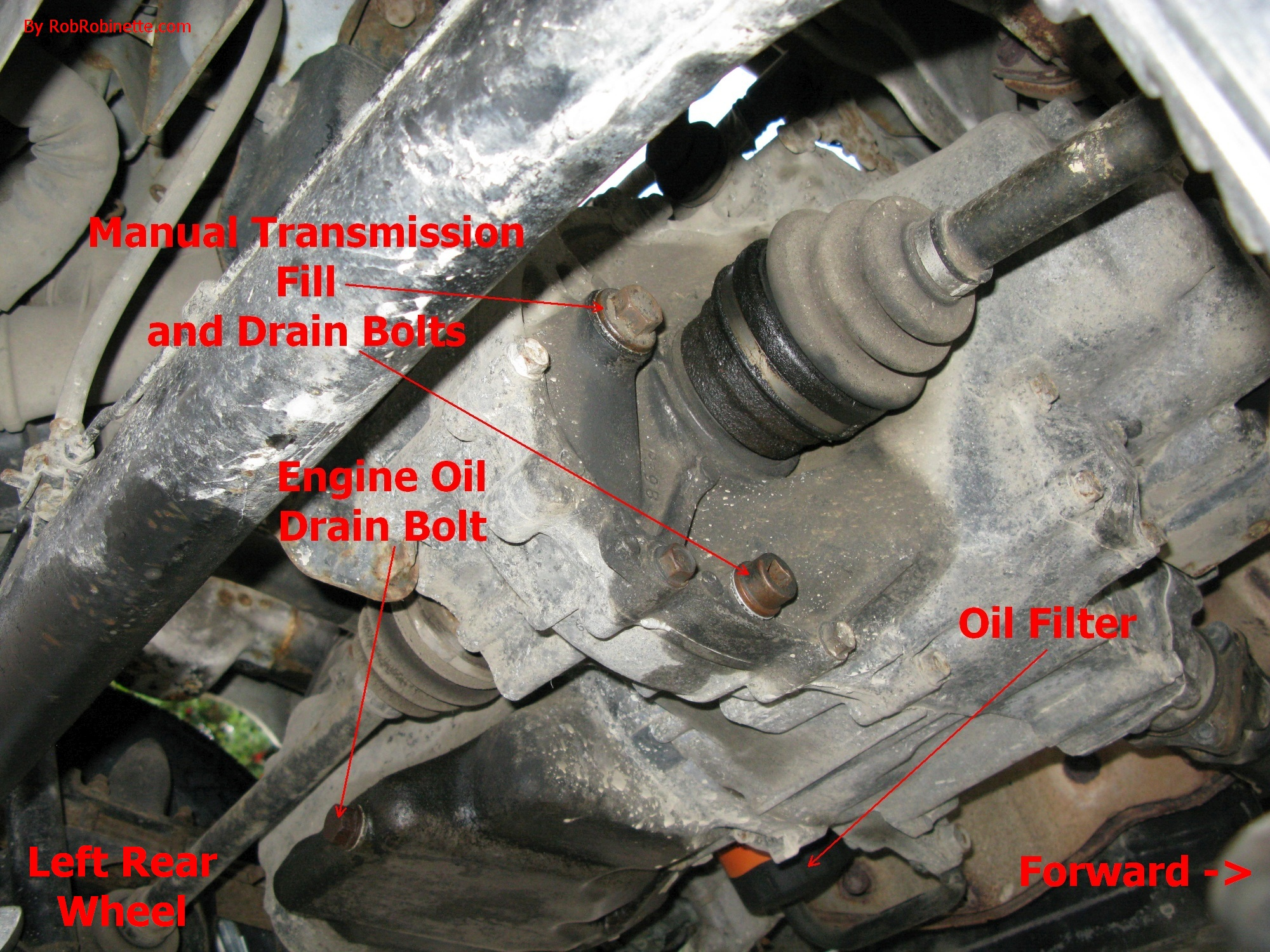 Acty Oil Change