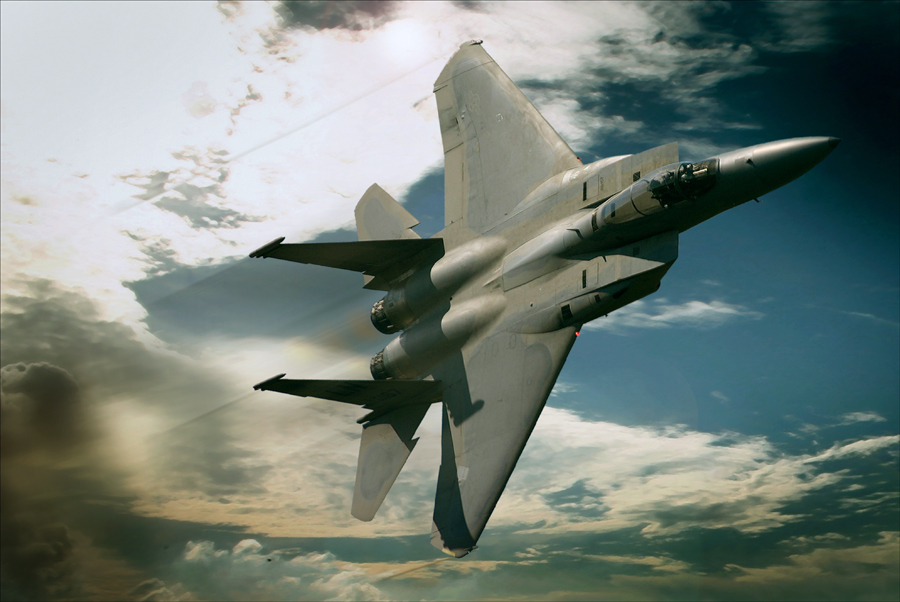 F-15 Eagle Air Superiority Fighter