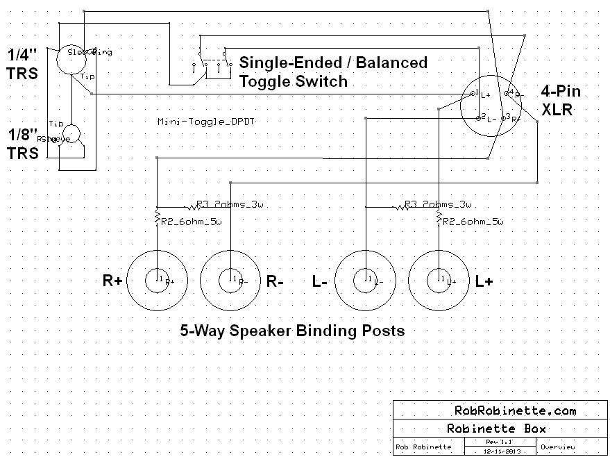 Banana Jack Connector Schematic Symbol Circuit Connection Diagram