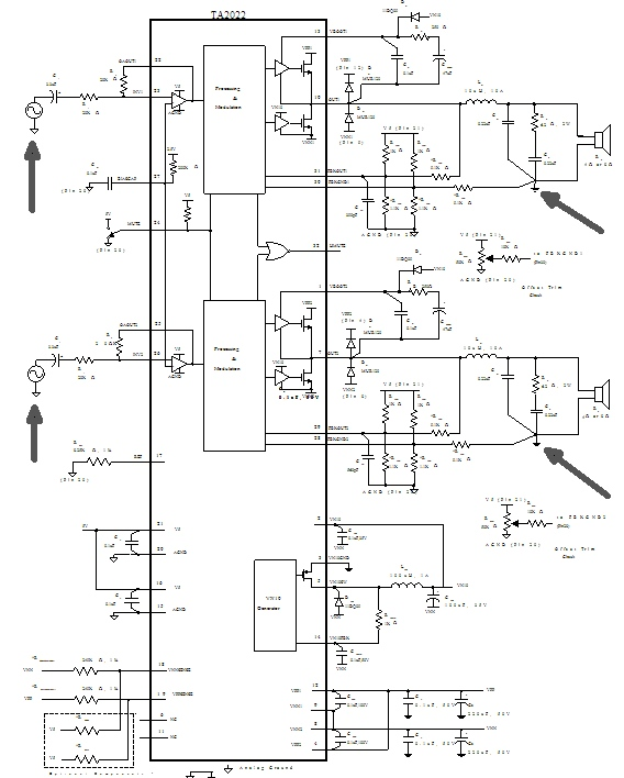 The Ta2022 Singleended With Unbalanced Output: Balanced Audio Wiring Diagram At Hrqsolutions.co