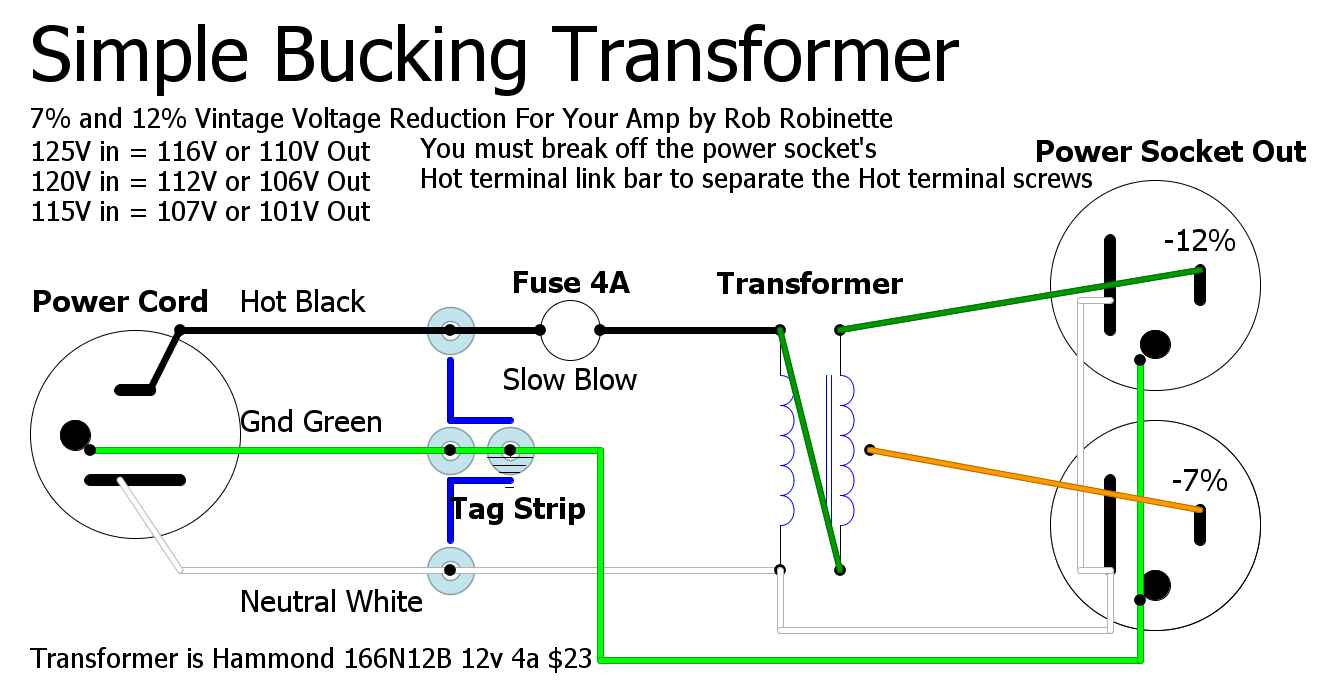 Bucking Transformer Wiring Diagram Simple Guide About Vtx 1300 Brake Light Switch Outlet And