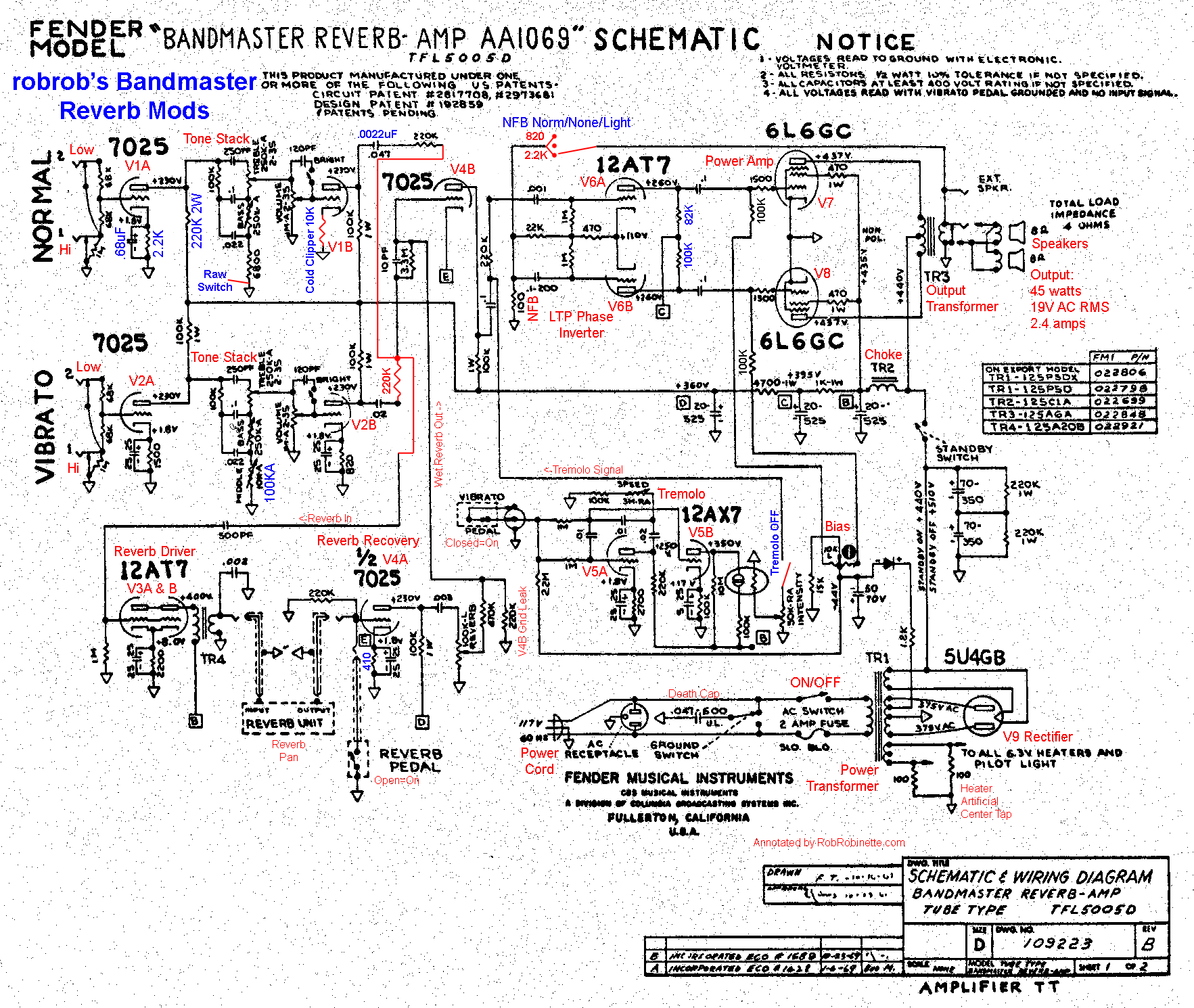 fender bandmaster wiring diagram wiring diagramfender bandmaster wiring diagram speakers the bandmaster s 2 215 12 speaker cabi was from the fender factory loaded with either jensen c12n or oxford 12t6