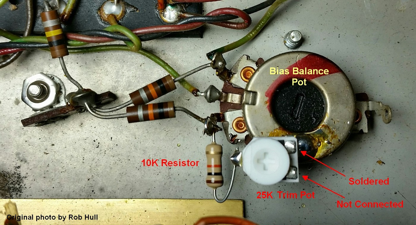 Ab763 Mods Wiring A Capacitor To 2 Amps Set The Trim Pot Maximum Resistance Before Installing So Bias Will Be Coolest