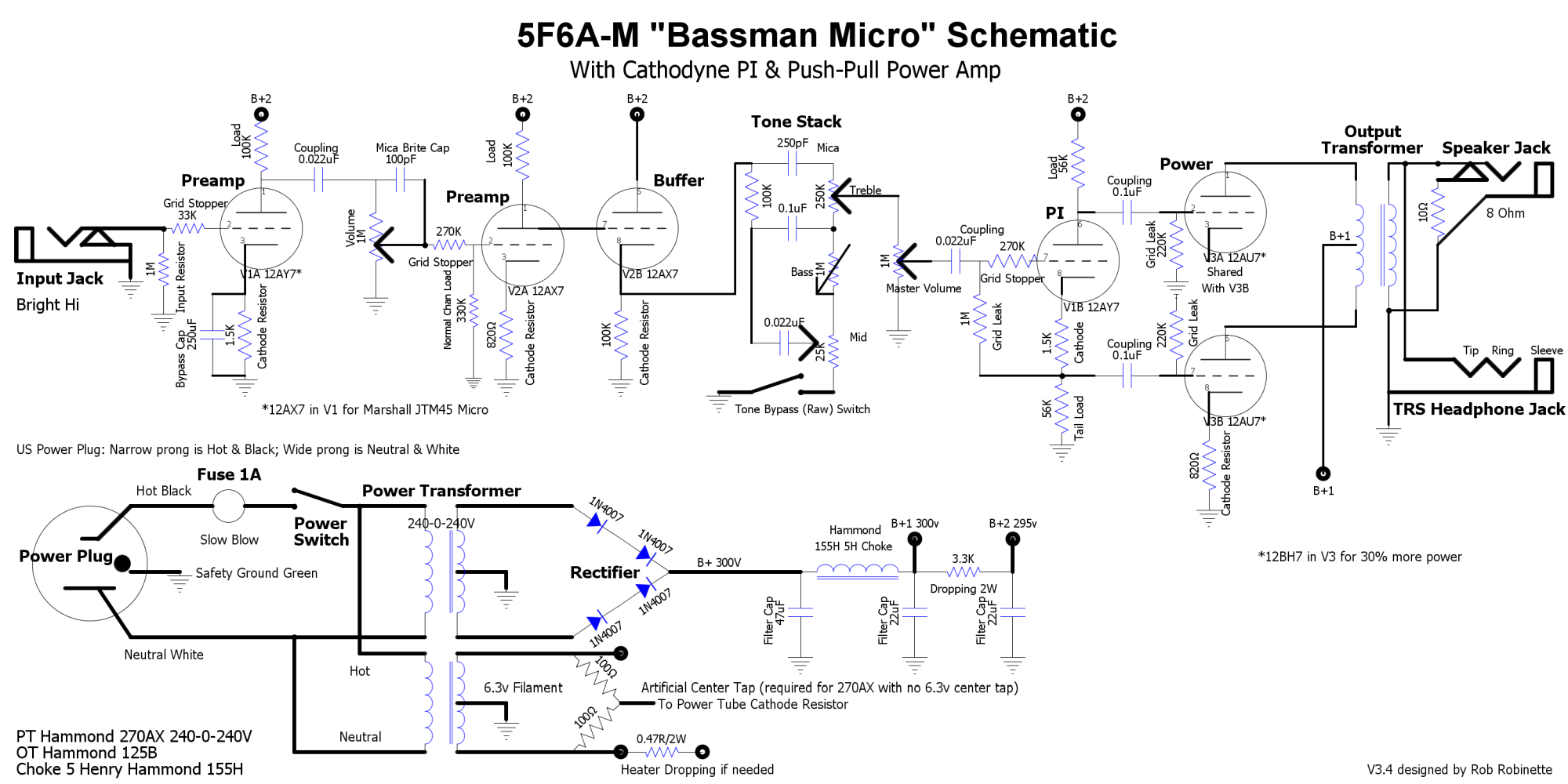 5F6A-M Bman Micro - The Amp Garage on