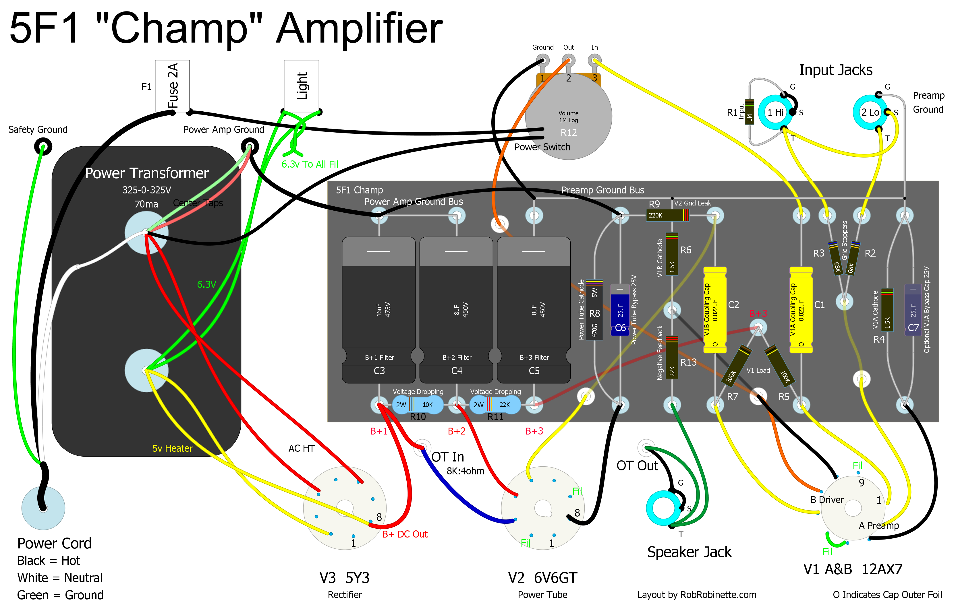 Build An Amp Push The Meter Into Black Mounting Flange From Back Until It Another Option For Someone That Has Some Electronic Experience Is Wonderful Fender 5e3 Deluxe Amplifier Two Power Tubes In A Pull
