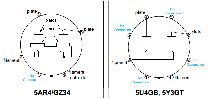 6 wire rectifier schematic  | 1180 x 590