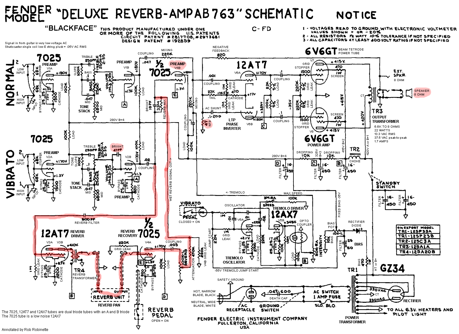 speaker wiring diagrams super reverb reverb speaker wiring diagrams for mis matched ohms