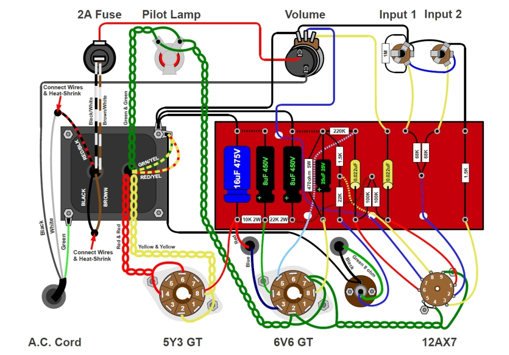 el84 tube diagram  el84  free engine image for user manual