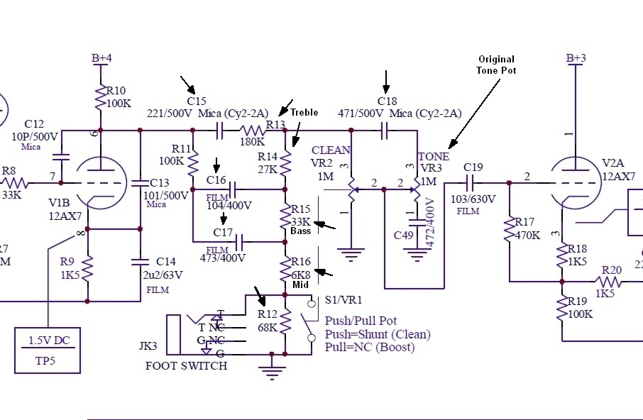 VHT Mods Vht Special Schematic on