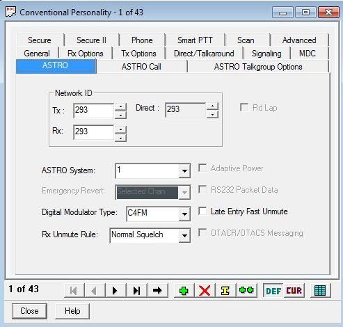 Rugged Radio Programming Software