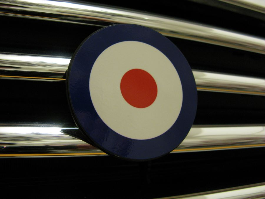 magnetic badge in place, go motoring and enjoy your Stinkin' Badges