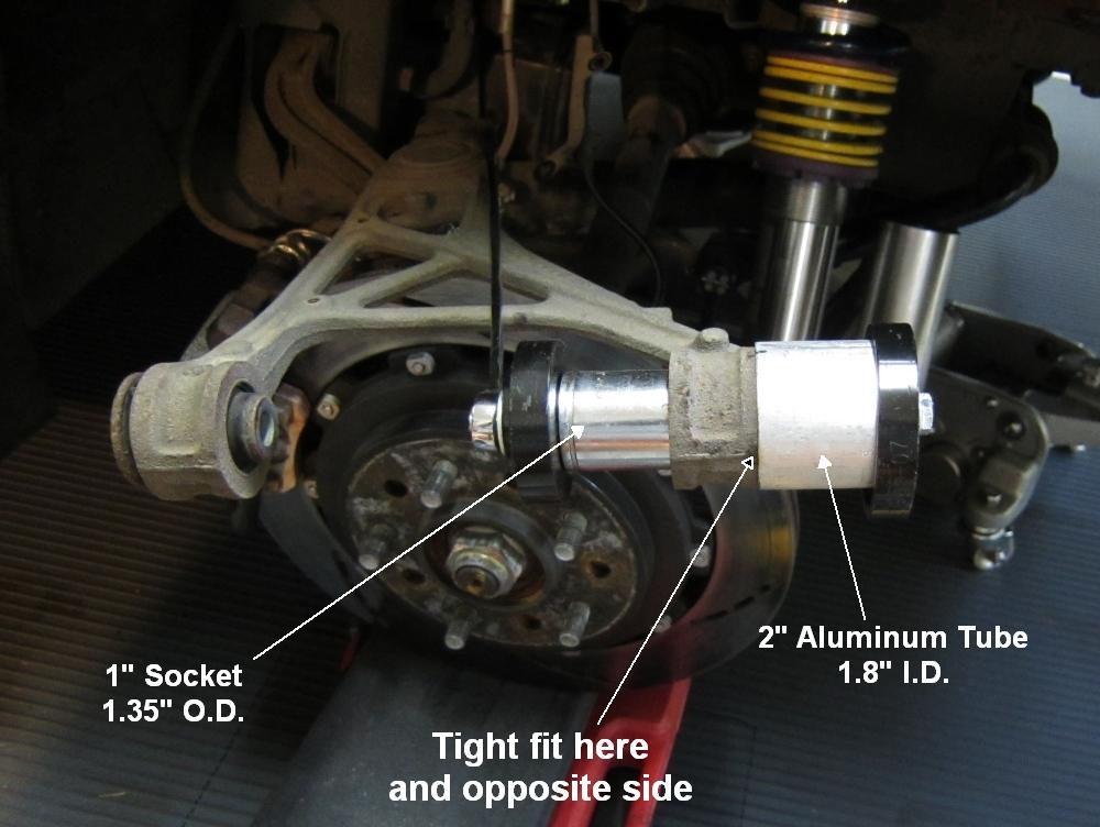Suspension Bushing Replacement Diy S2ki Honda S2000 Forums