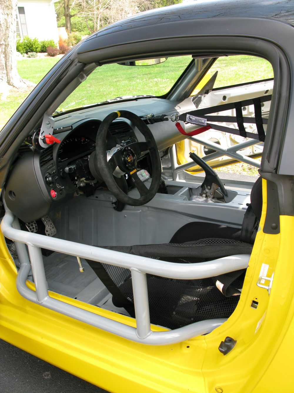 Racecar Race Car Dash Wiring Passenger Foot Box And Under Support