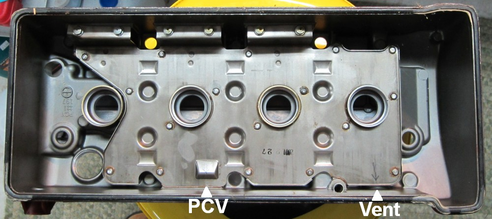 Vwvortex how to install a catch can the correct way there are two vacuum lines that can be tapped for a catch can the most common is the pcv valve line this line is the cause of most blue smoke problems sciox Choice Image