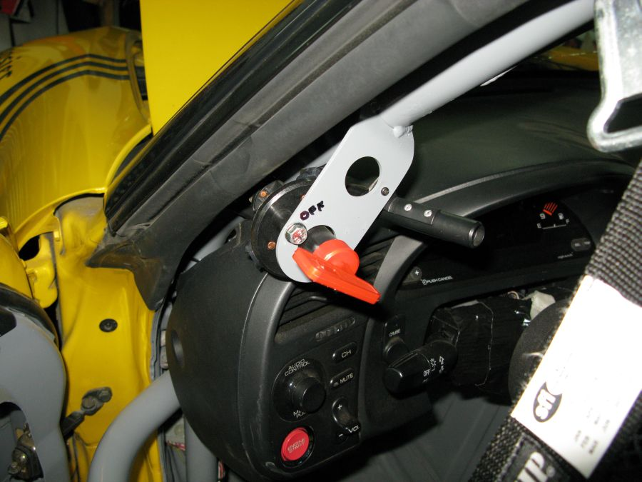 electrical cutoff switch in standard scca location