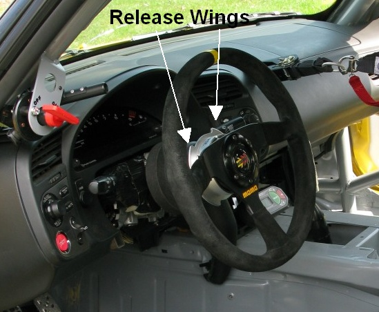 You Have To Take Into Account The Thickness Of Adapter Hub Quick Disconnect Steering Wheel Dish Figure Out Where Will End Up