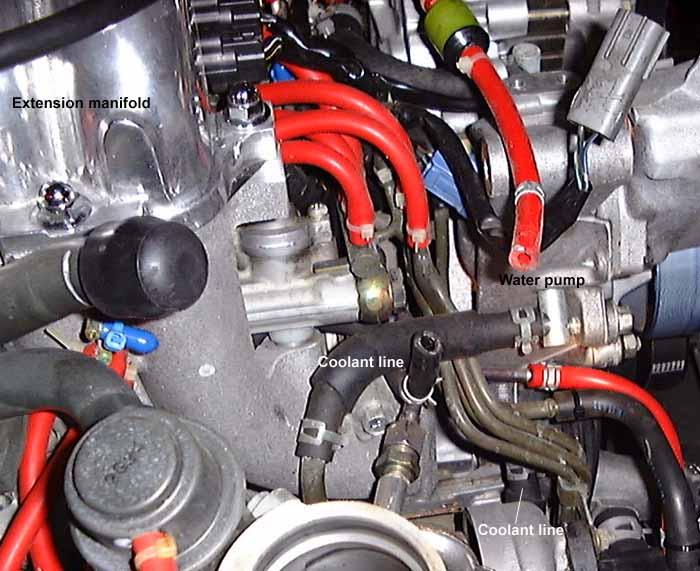 N54 Turbo Coolant Lines